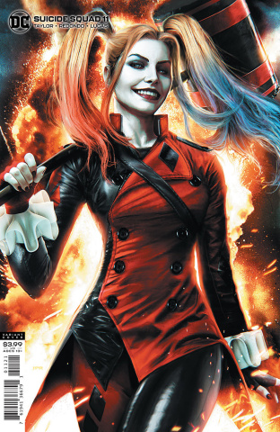 Suicide Squad #11 (Jeremy Roberts Cover)