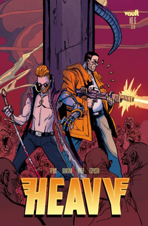 Heavy #6 (Donovan Cover)