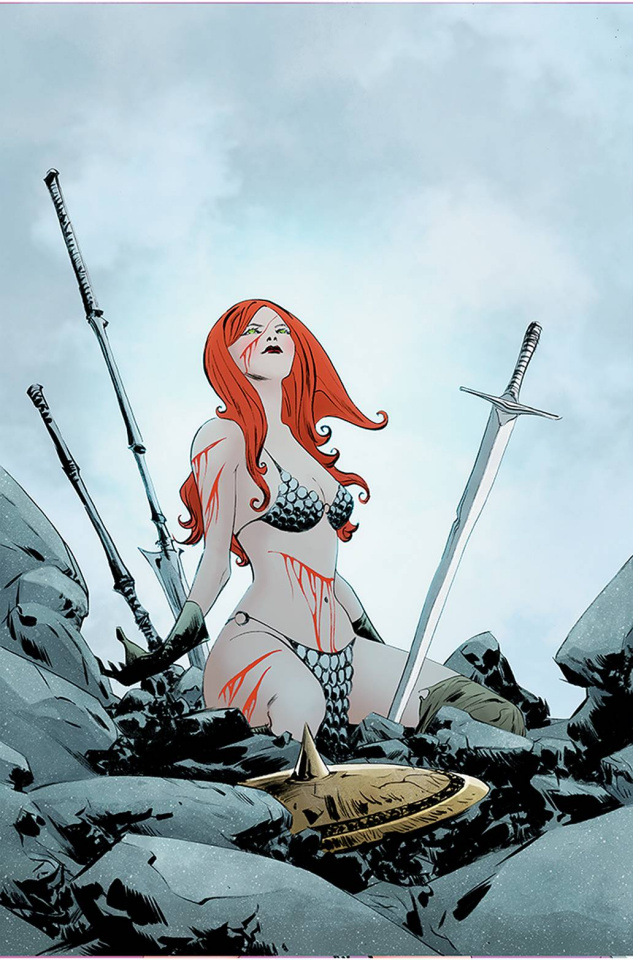 Red Sonja #24 (Lee Virgin Cover)