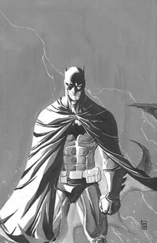 Batman: Europa #2 (Black & White Cover)