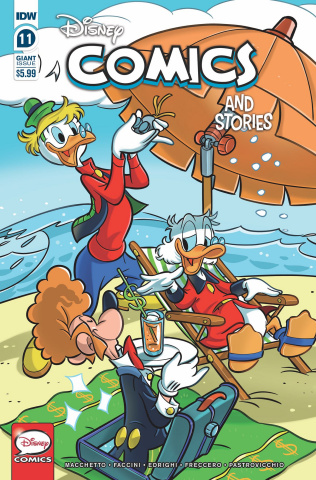 Disney Comics and Stories #11 (Mazzarello Cover)