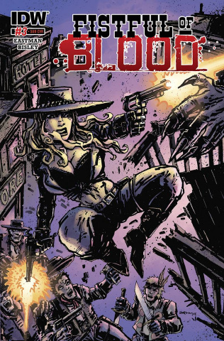 Fistful of Blood #3 (Subscription Cover)