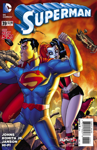 Superman #39 (Harley Quinn Cover)