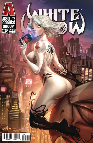 White Widow #5 (Garza Cover)