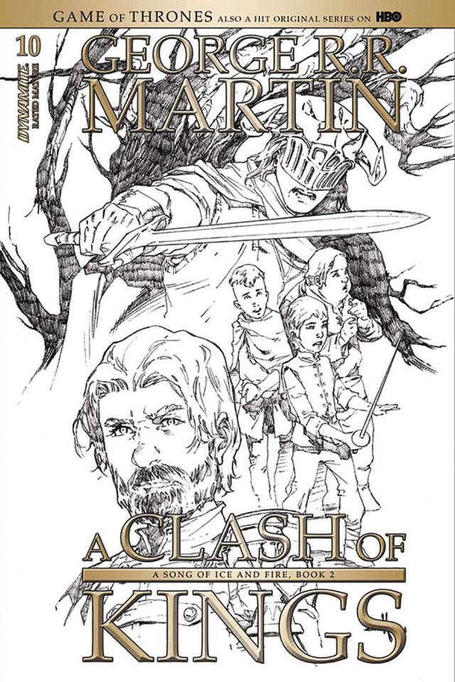 A Game of Thrones: A Clash of Kings #10 (15 Copy Rubi B&W Cover)