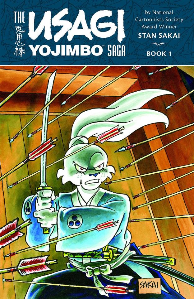 The Usagi Yojimbo Saga Vol. 1