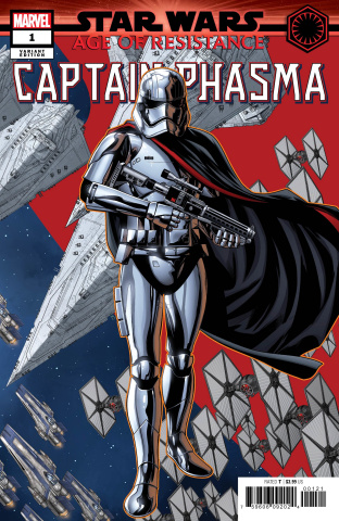Star Wars: Age Of Resistance - Captain Phasma #1 (Mckone Puzzle Cover)