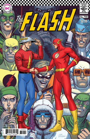 The Flash #750 (1960s Nick Derington Cover)