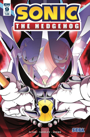 Sonic the Hedgehog #9 (Wells Cover)