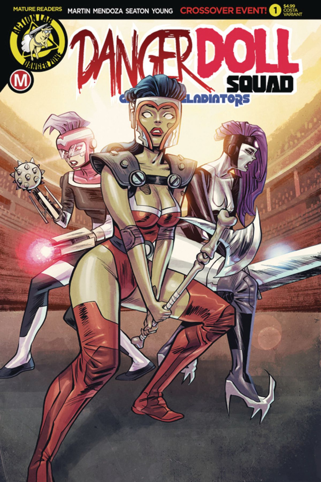 Danger Doll Squad: Galactic Gladiators #1 (Costa Cover)