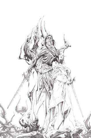 The Untamed II #1 (25 Copy Lee Sketch Cover)