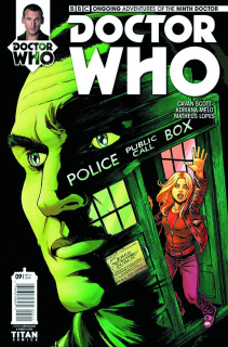 Doctor Who: New Adventures with the Ninth Doctor #9 (Bolson Cover)