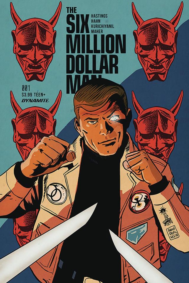 The Six Million Dollar Man #1 (Francavilla Cover)