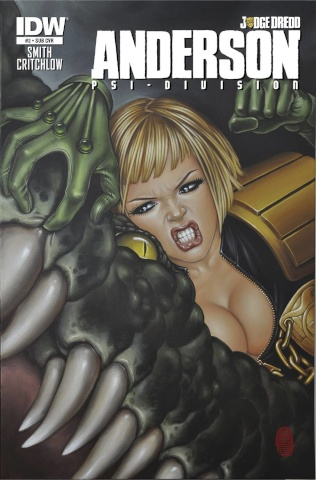 Judge Dredd: Anderson - Psi-Division #2 (Subscription Cover)