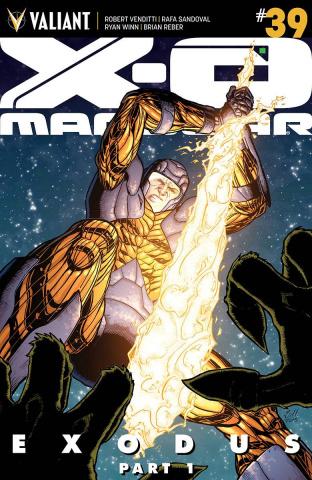 X-O Manowar #39 (Gill Cover)