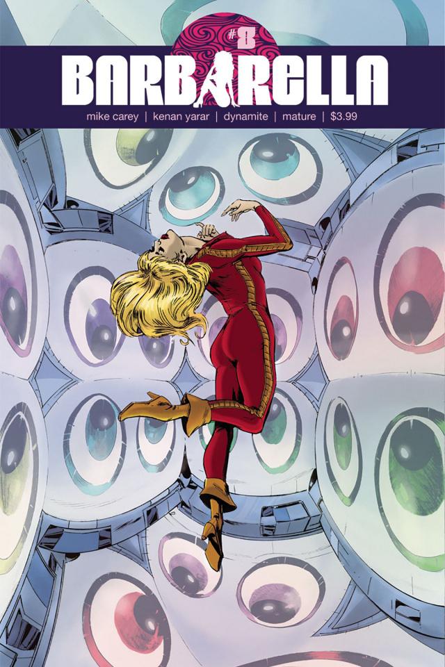 Barbarella #8 (Guice Cover)