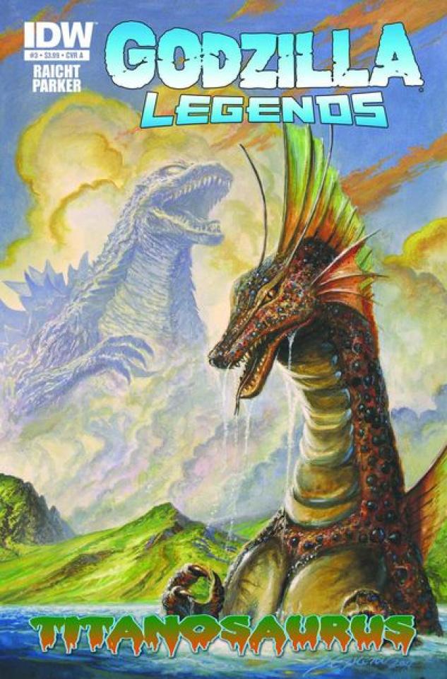 Godzilla Legends #3