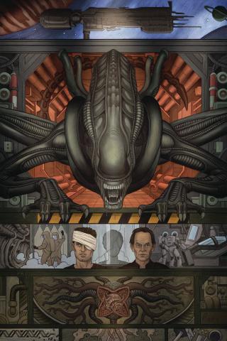 William Gibson's Alien 3 #1 (Rivera Cover)