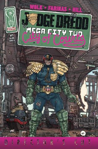 Judge Dredd: Mega-City Two #1 (Director's Cut)