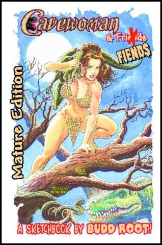 Cavewoman 2008 Heroes Signed Sketchbook