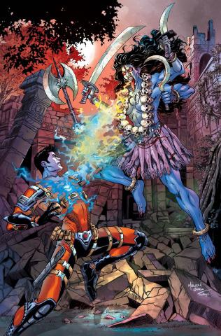 E.V.I.L. Heroes #4 (Malsuni Cover)