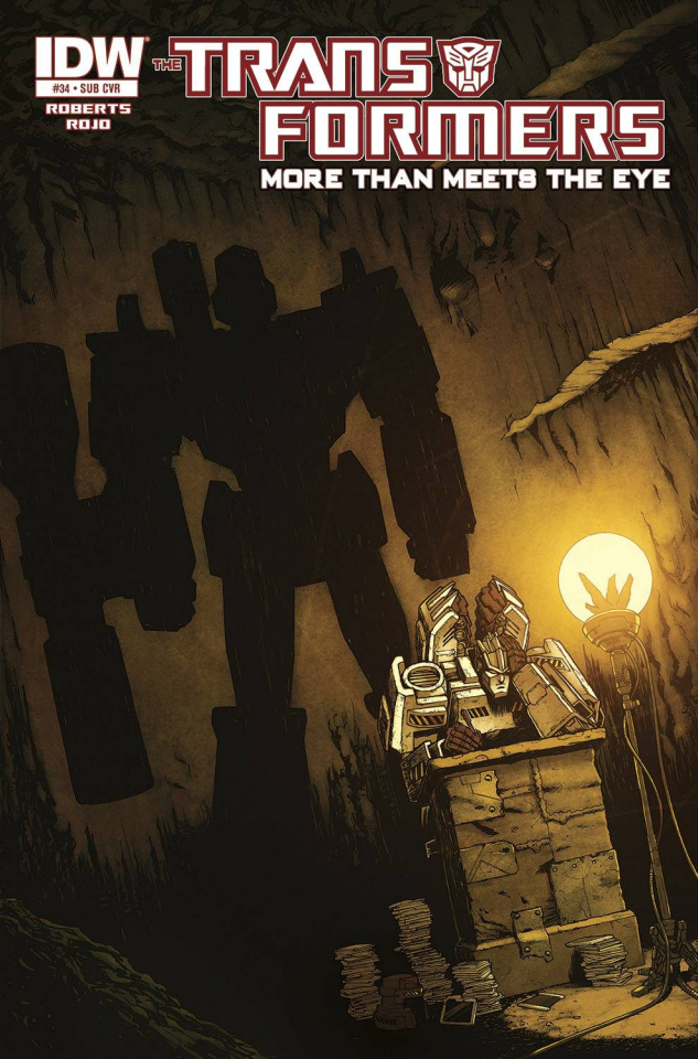 The Transformers: More Than Meets the Eye #34 (Subscription Cover)