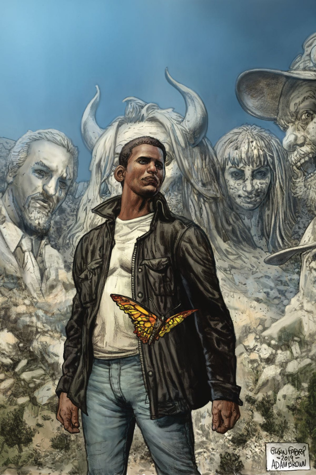 American Gods: The Moment of the Storm #9 (Fabry Cover)