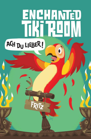 Enchanted Tiki Room #2 (Grandt Connecting Cover)