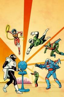 Multiversity: Thunderworld #1 (Chiang Cover)