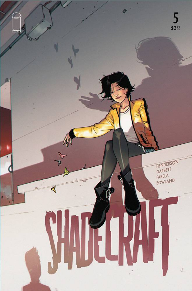 Shadecraft #5 (Bengal Cover)