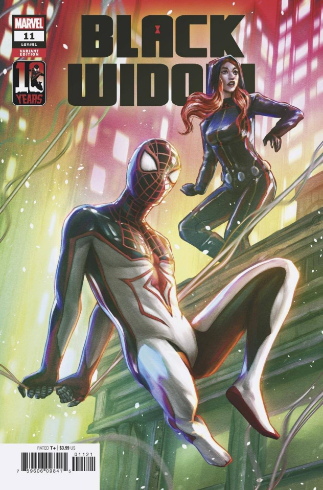 Black Widow #11 (Edge Miles Morales 10th Anniversary Cover)