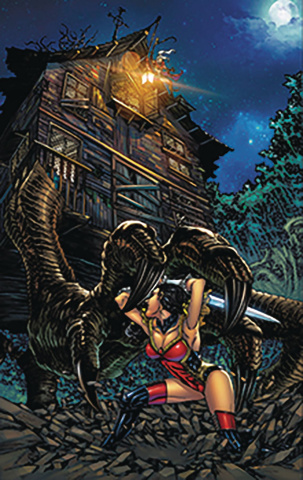 Grimm Fairy Tales #20 (Tolibao Cover)