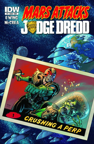 Mars Attacks Judge Dredd #1 (Subscription Cover)
