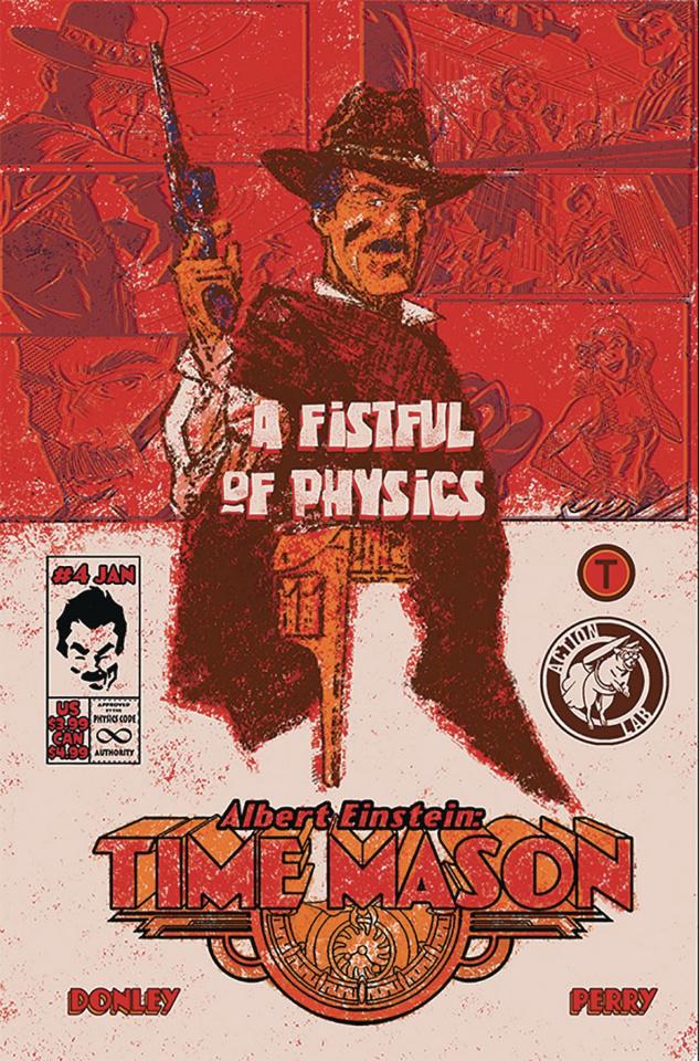 Albert Einstein: Time Mason #4 (Donley Cover)