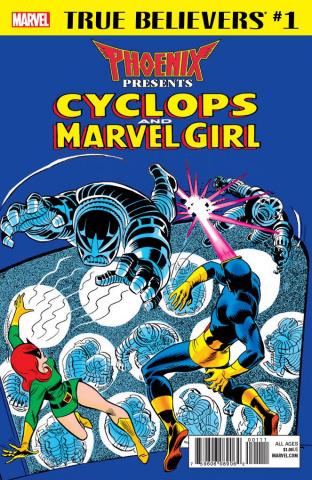 Phoenix Presents: Cyclops and Marvel Girl #1 (True Believers)