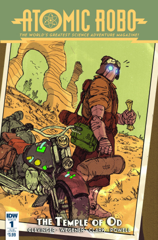 Atomic Robo and The Temple of Od #1 (Subscription Cover)