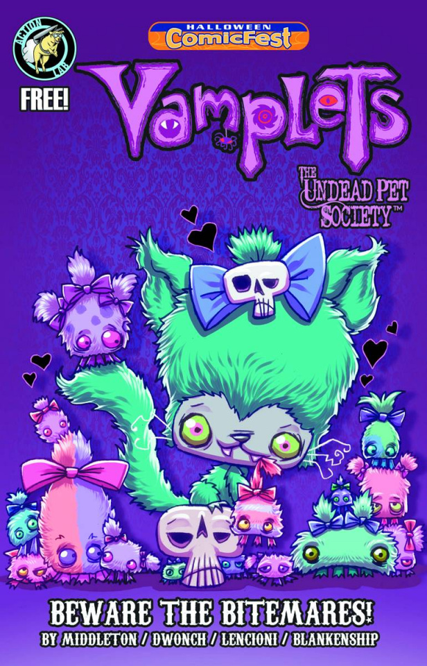 Vamplets: The Undead Pet Society Halloween ComicFest 2014