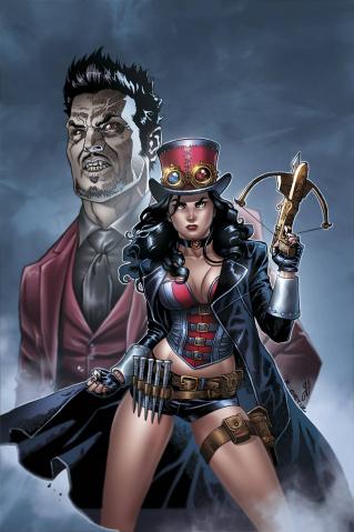 Grimm Fairy Tales: Van Helsing vs. Dracula #1 (Ortiz Cover)