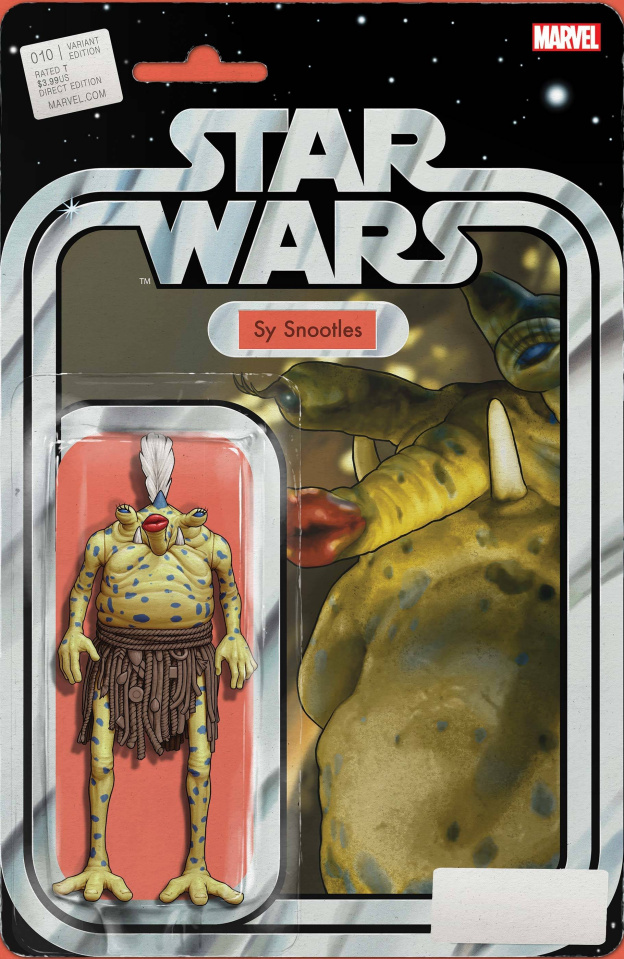 Star Wars #10 (Christopher Action Figure Cover)