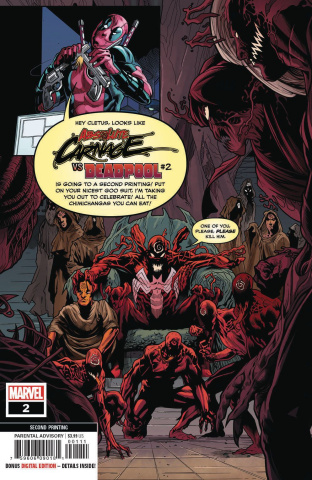 Absolute Carnage vs. Deadpool #2 (Ferreira 2nd Printing)