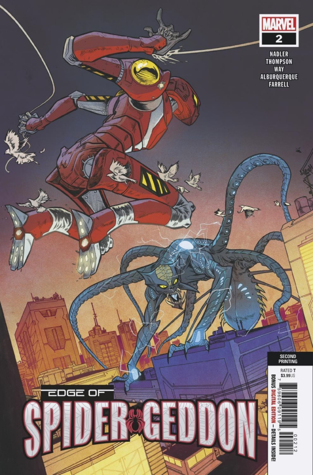 The Edge of Spider-Geddon #2 (Alburquerque 2nd Printing)