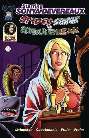 Starring Sonya Devereaux: Spider-shark vs. Snake-bear (Parody Cover)