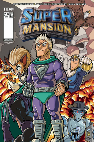 Supermansion #1 (Hurn Cover)