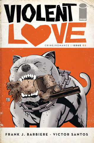 Violent Love #3 (Santos Cover)