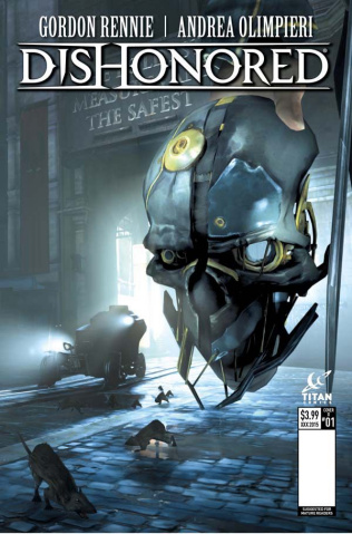 Dishonored #1 (Game Cover Cover)