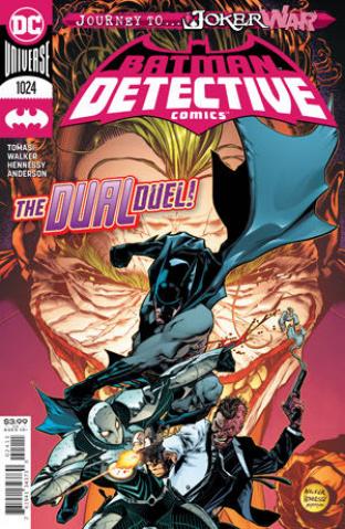 Detective Comics #1024 (Brad Walker Cover)