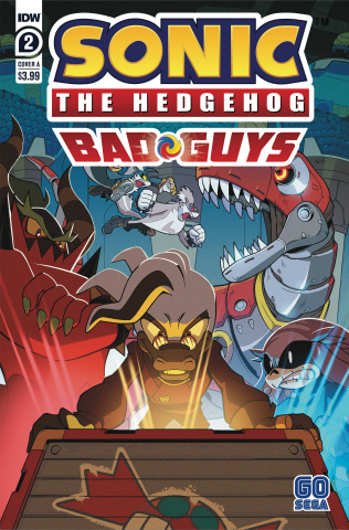 Sonic the Hedgehog: Bad Guys #2 (Hammerstrom Cover)