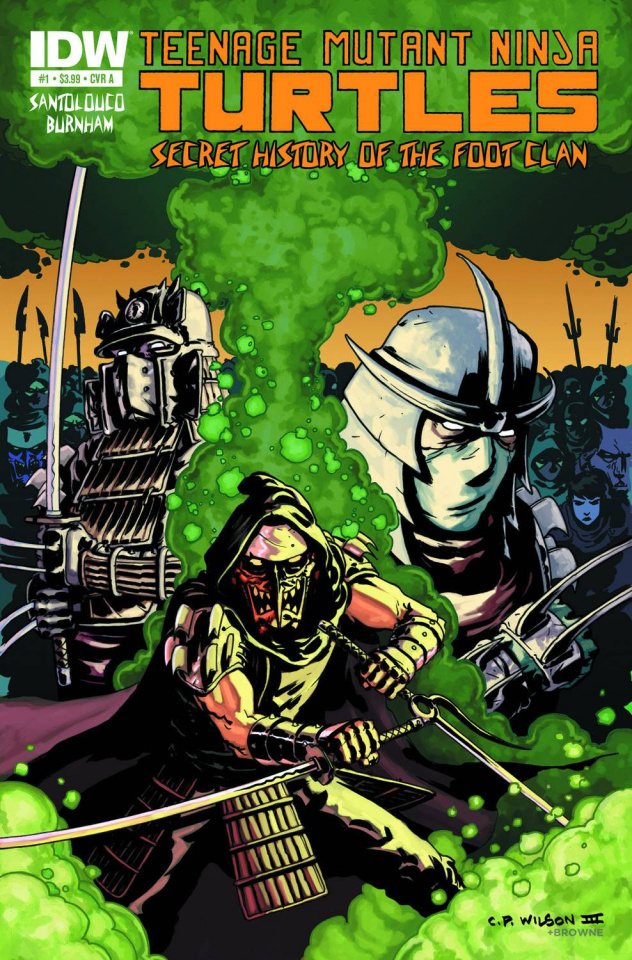 TMNT: The Secret History of the Foot Clan #1
