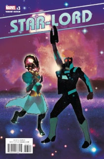 Star-Lord #3 (Irving Cover)