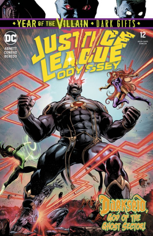 Justice League: Odyssey #12 (Dark Gifts Cover)